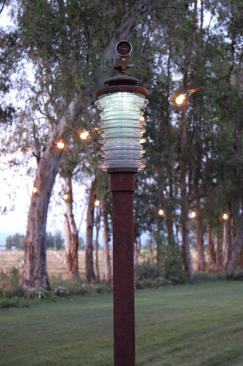 """Tall Guy"" Solar Garden Lamp"