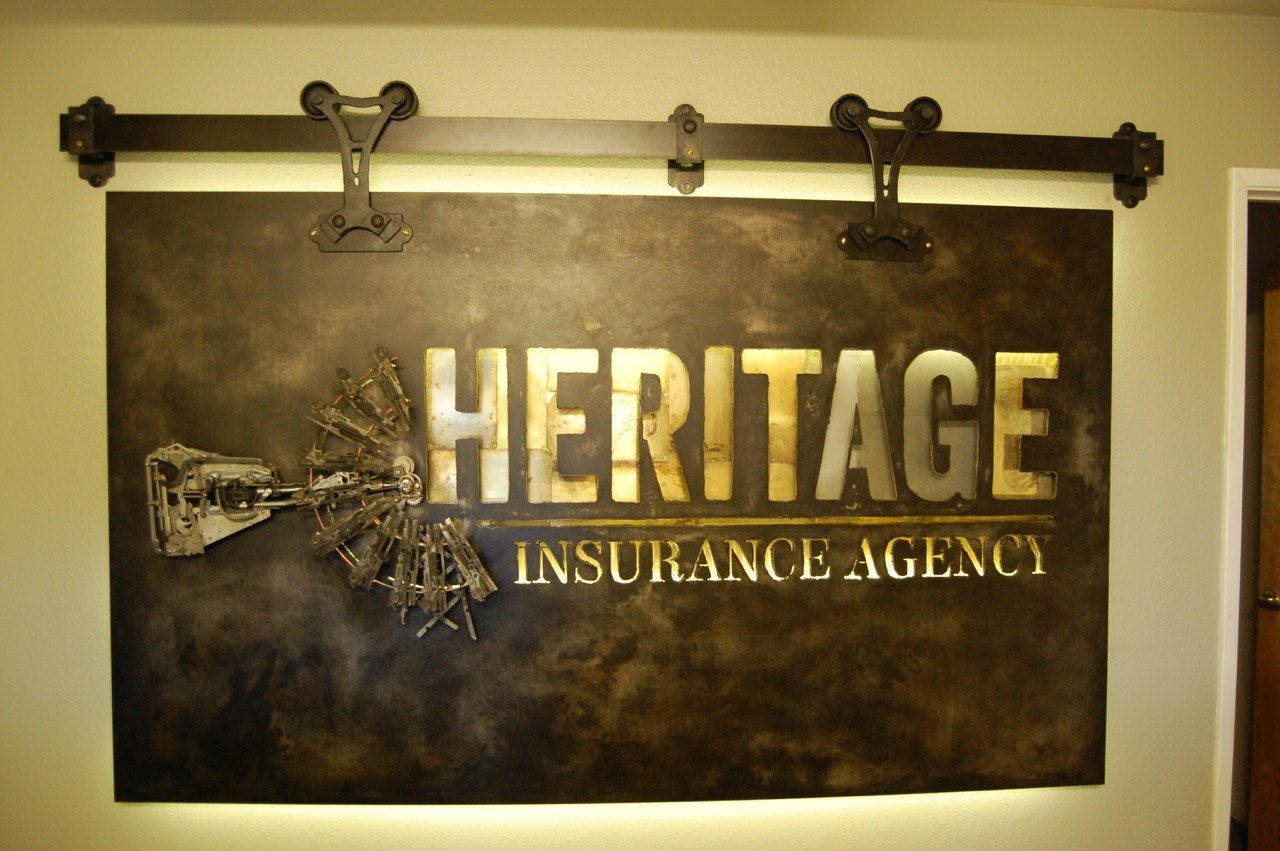 Heritage Insurance Lobby Art